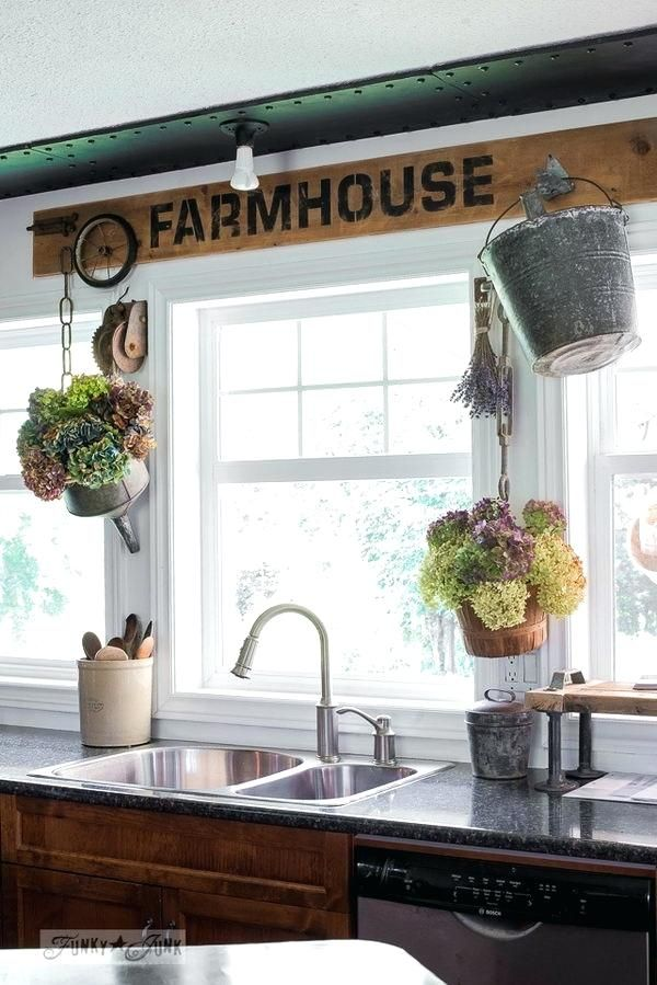 the best thing about doubling up on store bought treatments is they give off the appear on farmhouse kitchen window id=59679