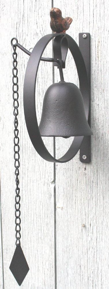 Wall Hanging Bell With Bird Design