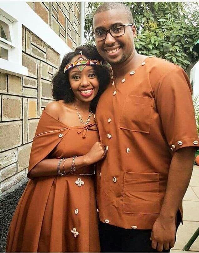 Kikuyu traditional wedding | Traditional wedding attire, African ...
