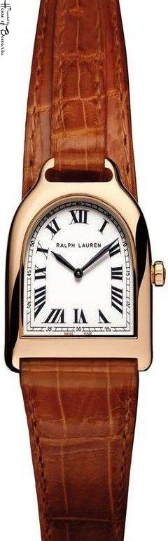 ~Ralph Lauren Stirrup Watch | House of Beccaria#