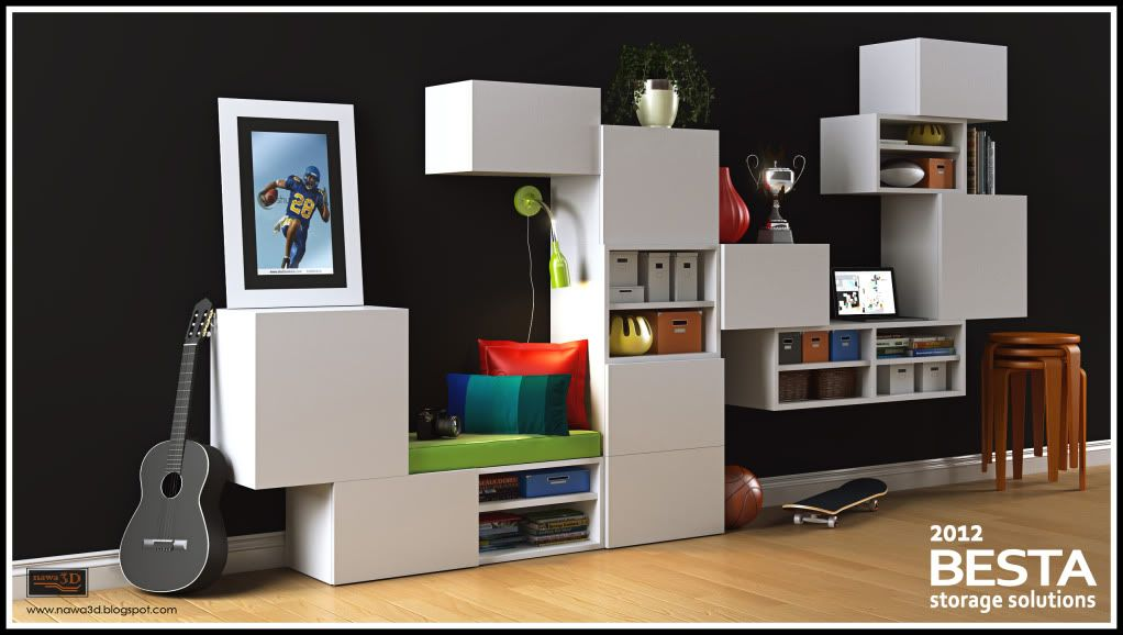 INSPIRED BY IKEA BESTA Ikea Floating Cabinet, Ikea Bedroom, Bookcase,  Entertainment Center,