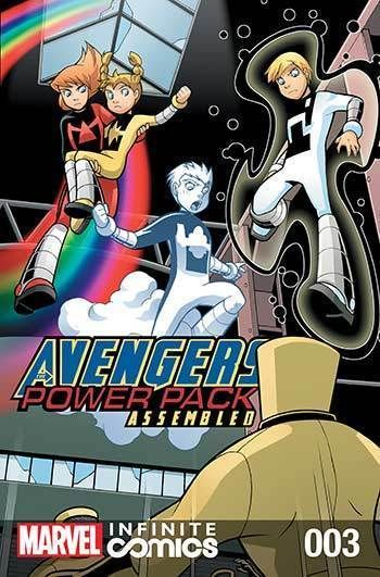 Avengers and Power Pack #03 | cesar | Avengers, Family games, Marvel