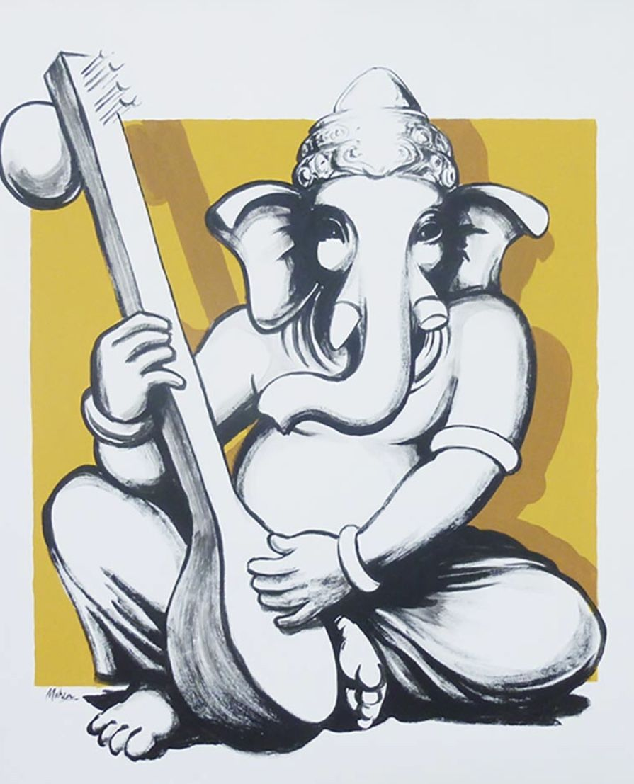 Pin By Siva Kumar On Lord Ganesha Painting Ganesha Art Ganesh Art