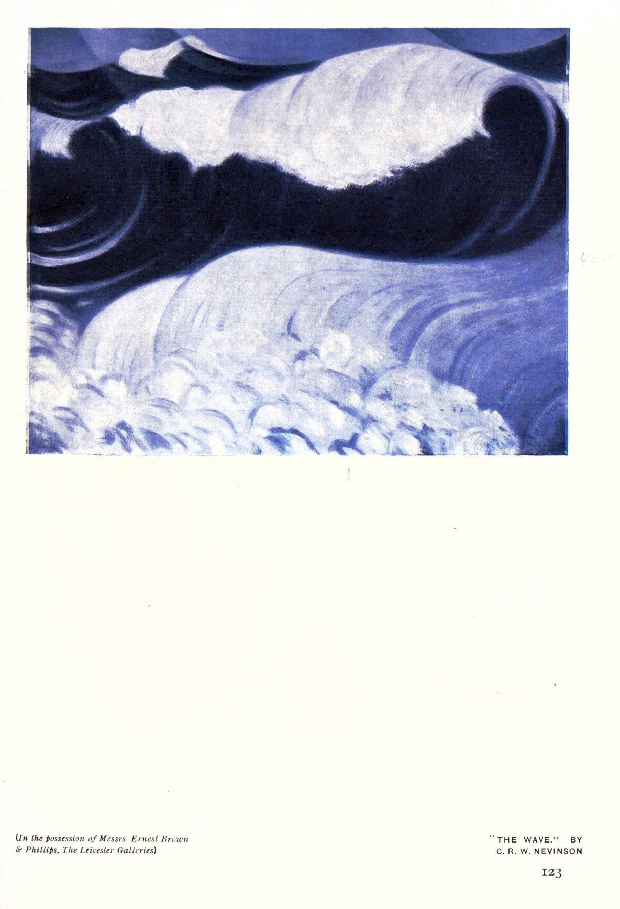 Seascape - British - Ocean waves