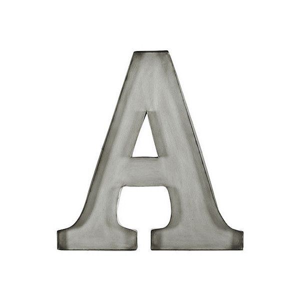 Ballard Designs Vintage Typesetter Plaque ($13) liked on ...