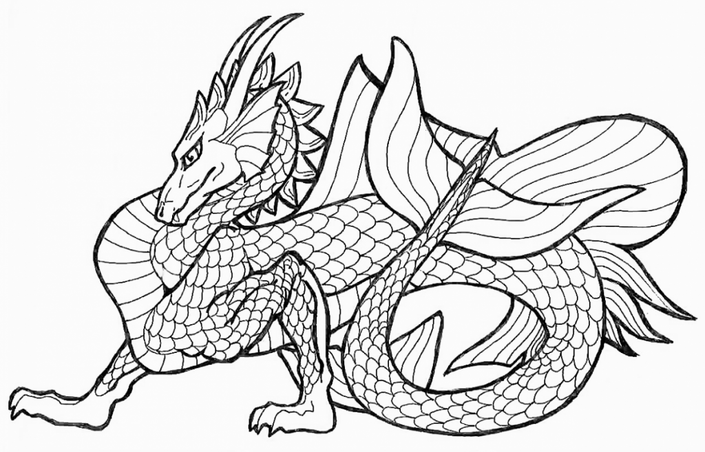Free Printable Dragon Coloring Pages For Kids | Coloring pages ...