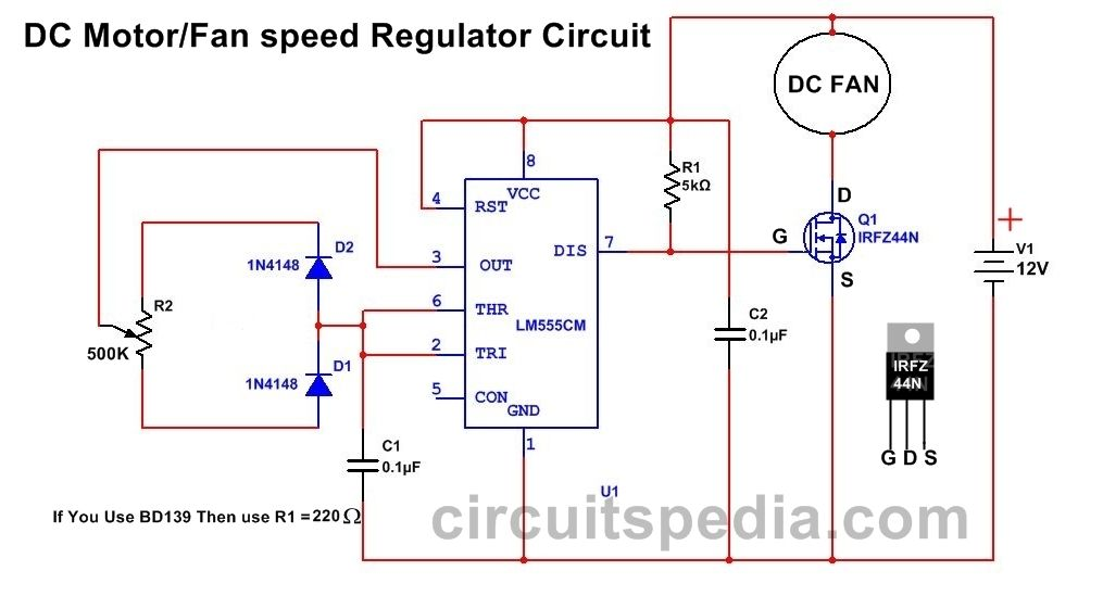 Pin by Aman Bharti on DC Motor Sd Controller/Regulator ... Dc Motor Controller Circuit Schematic on