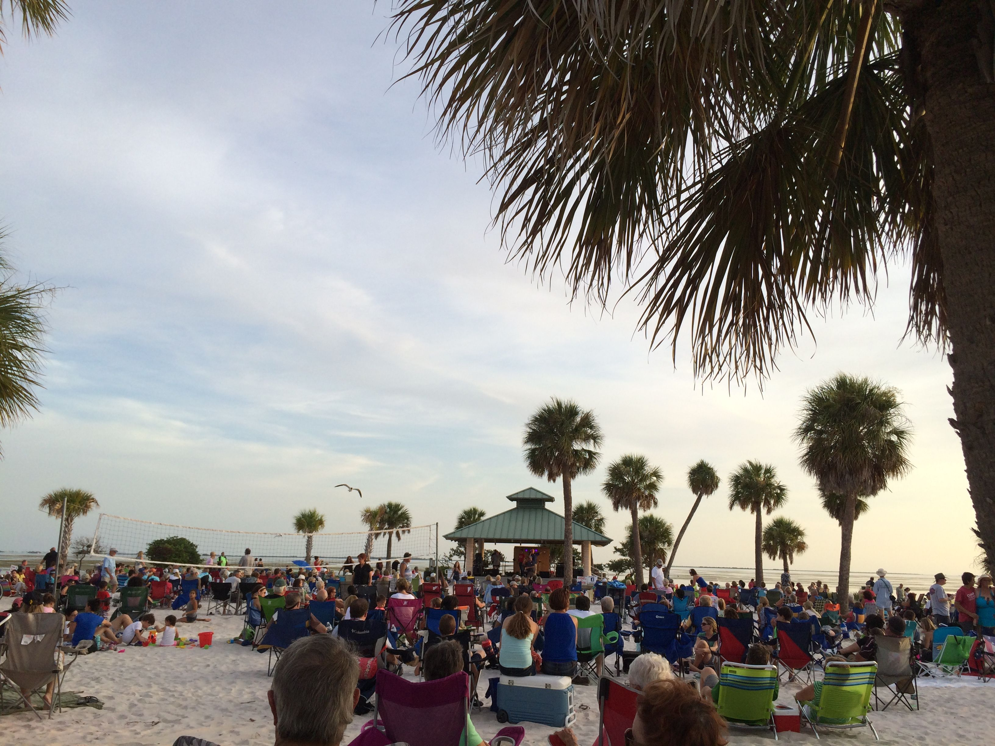 Sunset Beach Concert Series Tarpon Springs Fl Events Can Be Enjoyed By All At