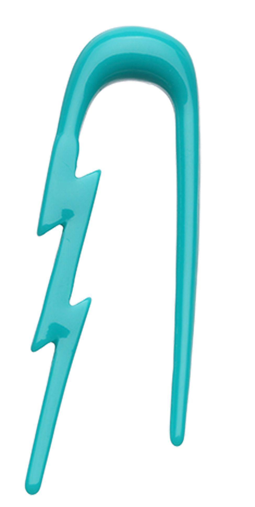 Black Lightning Bolt Hooks (14 gauge - 0 gauge) | Body ...  |Lightning Bolt Gauges
