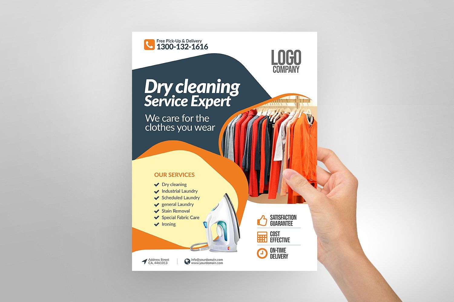 Dry Cleaning Service Expert Flyer