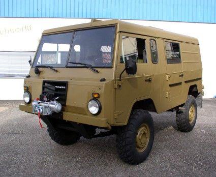 1975 Swedish Military Volvo C303 Tgb 11 New Paint Winch
