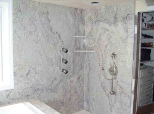 Large Slabs Tiles Shower Walls Bing Images Bathrooms Pinterest Tile Showers Walls And