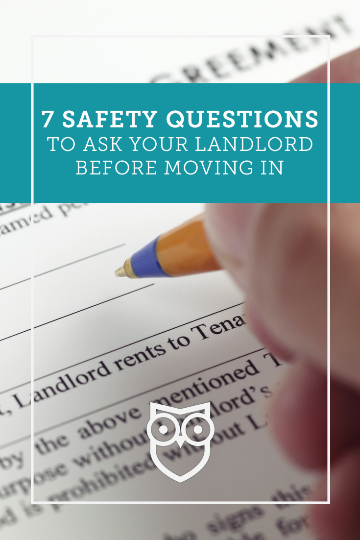 7 safety questions to ask your landlord before moving in tips for a simple move being a. Black Bedroom Furniture Sets. Home Design Ideas