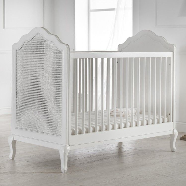 A Beautiful French Style Rattan Cot Bed Equally Suited To Little Prince Or Princess