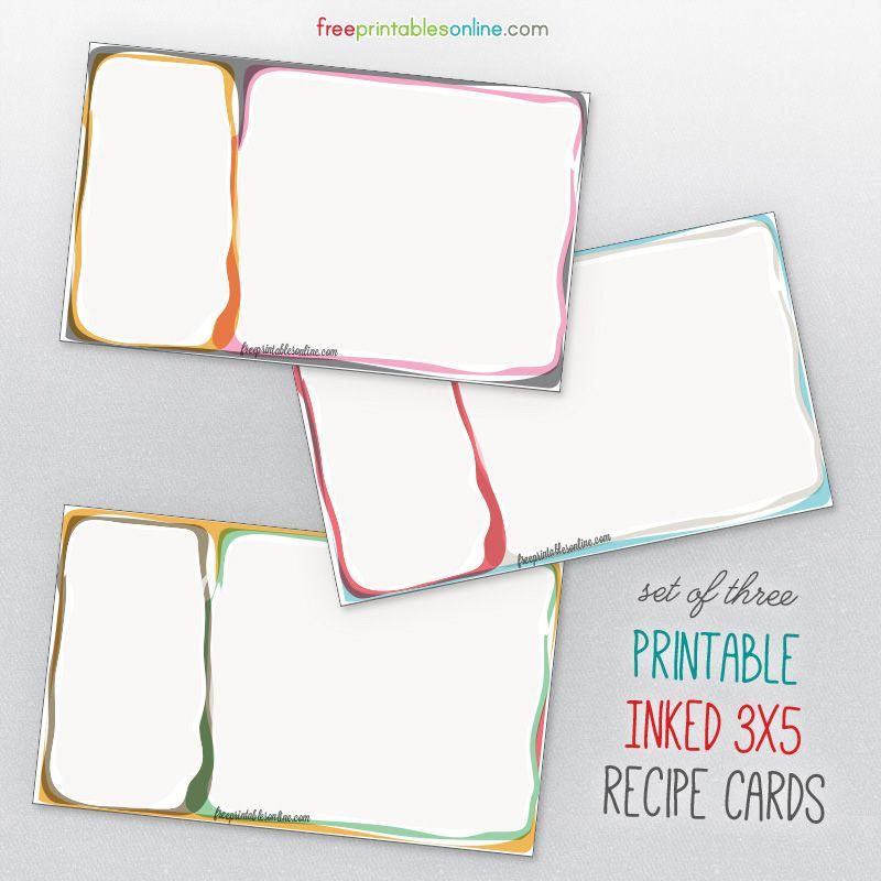 online recipe cards