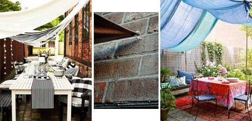 Como proteger del sol una fiesta en el jard n pinterest for Cerramiento terraza sin licencia