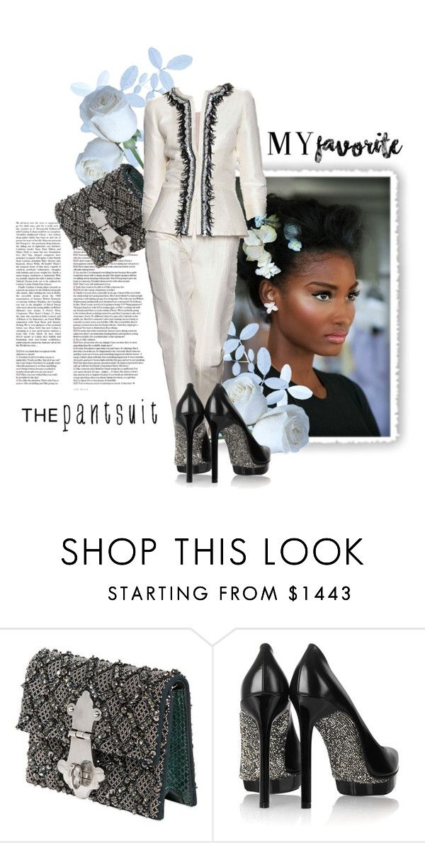 """""""My  Favorite"""" by the-house-of-kasin ❤ liked on Polyvore featuring Dolce&Gabbana, Lanvin and thepantsuit"""