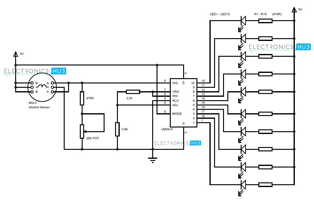 breathalyzer wiring diagram