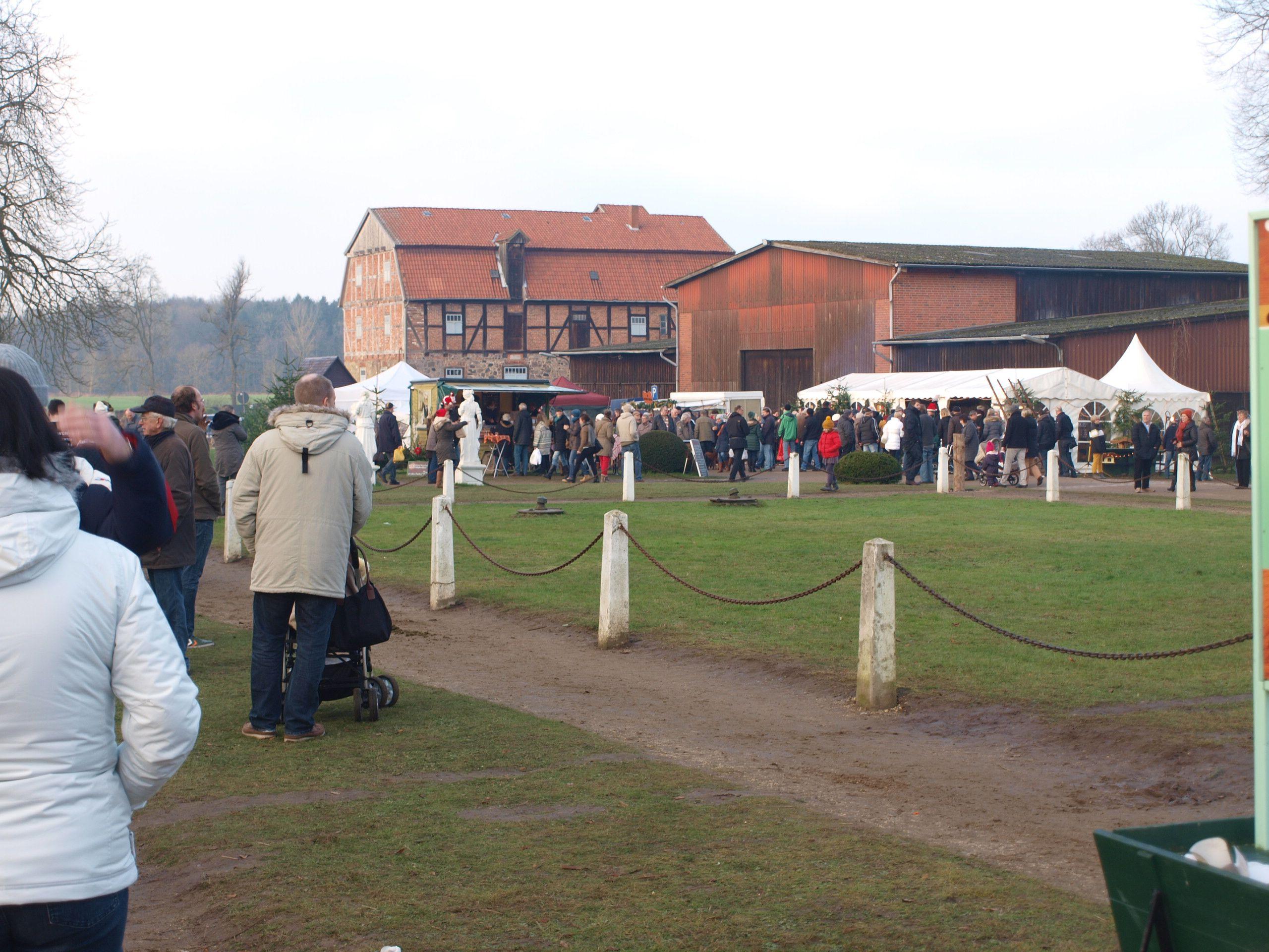 Weihnachtsmarkt in Wotersen 14.12.2014