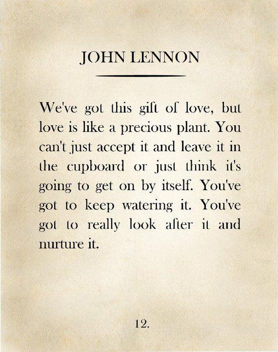 Classic Book Page, John Lennon, John Lennon Quote, Vintage Book Page, Book Wall Art, Book Page Art Print, Gift for Book Lovers