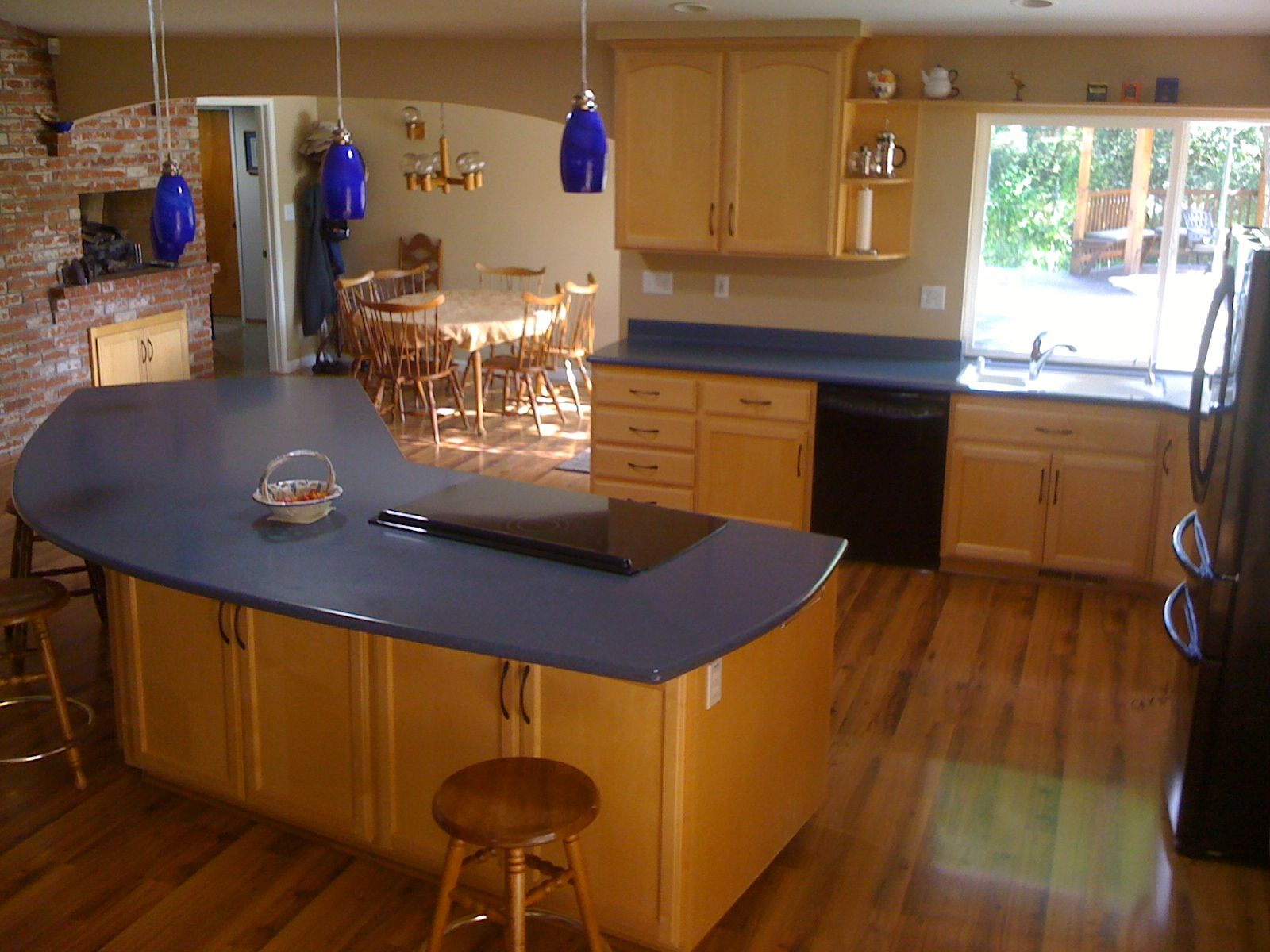 Top 25 Ideas About Kitchen On Countertops Blue