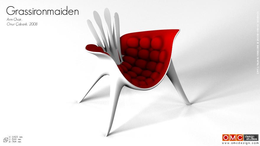 Grassironmaiden Arm Chair