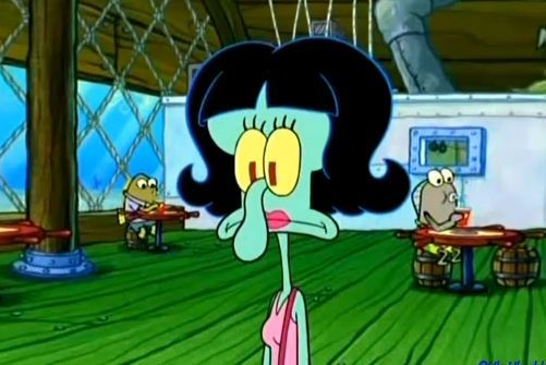 Squilvia, Squidward's love interest | Cartoon Characters