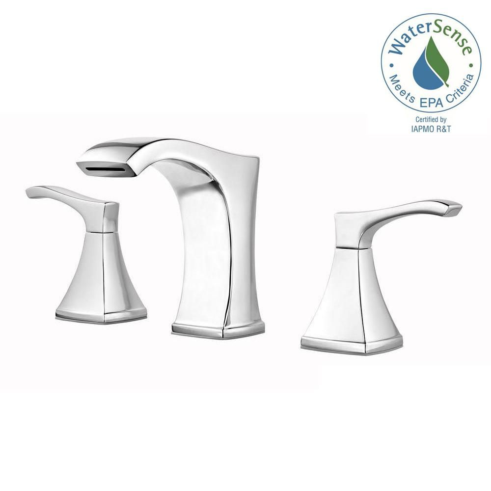 Bathroom Sink Faucets Portsmouth 2 Handle 4 Inch Centerset High Arc ...