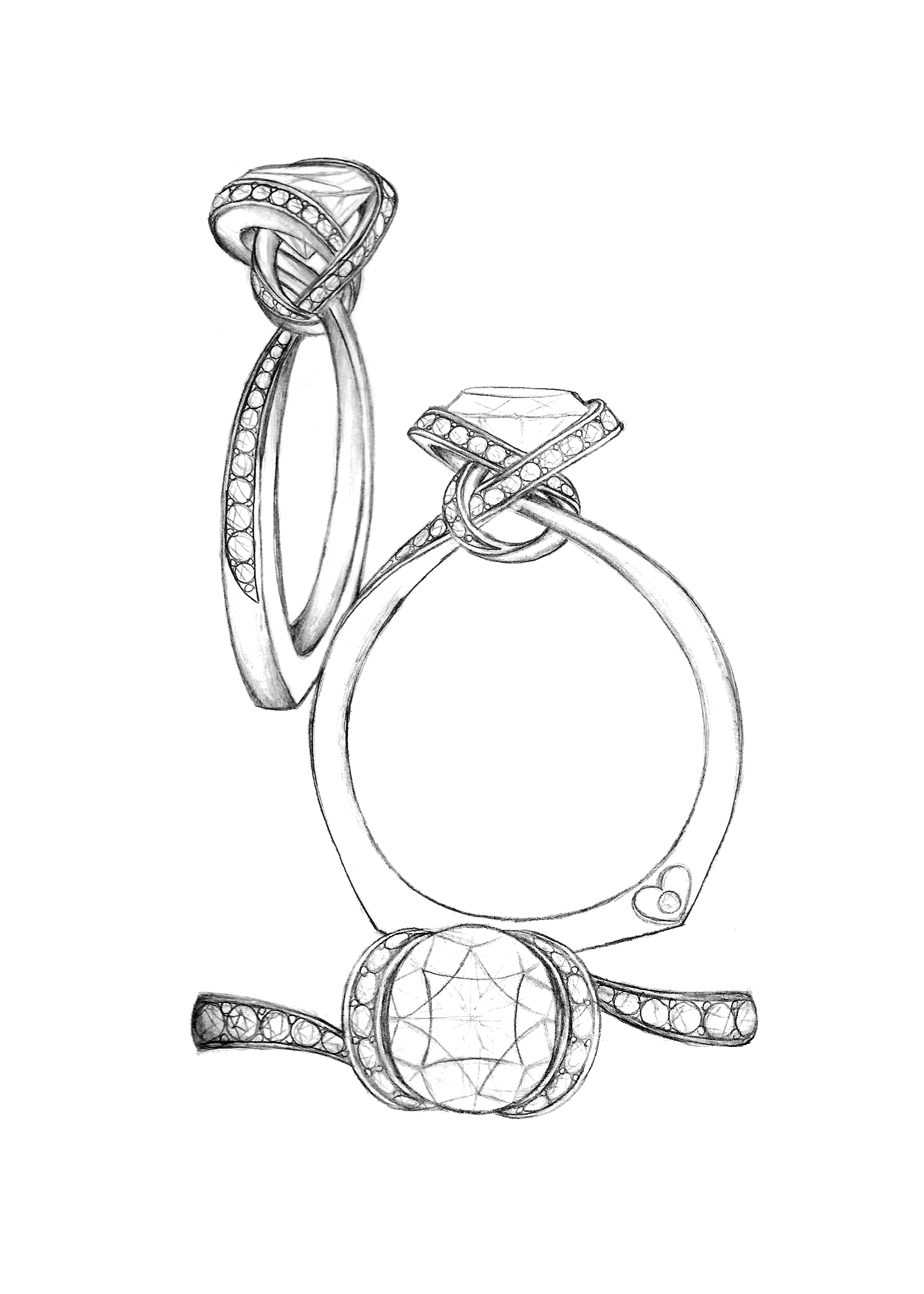 The last option for this week's new bridal design voting ...