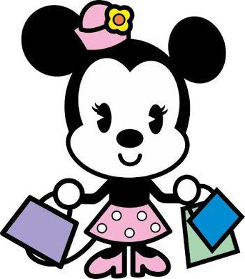 Aldlogos Disenos Tiernos De Disney Cuties Minnie Dibujos
