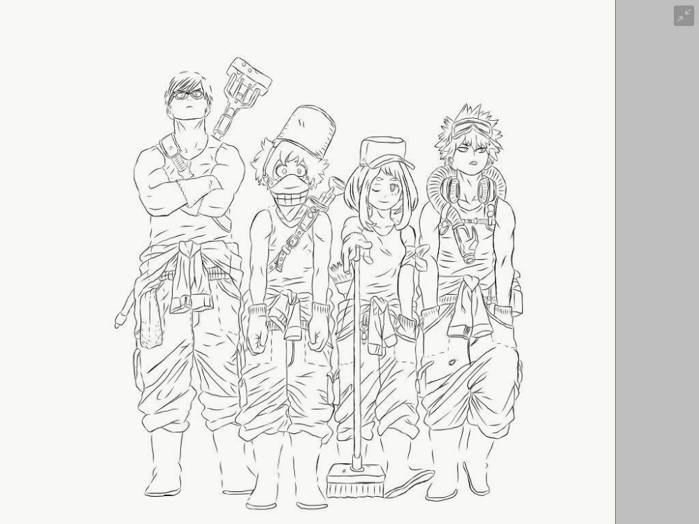 My Hero Academia Class Coloring Pages Google Search Coloring Pages Colouring Pages My Hero