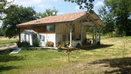 Maison landaise moderne charpentes puyo landes for Decoration maison landaise