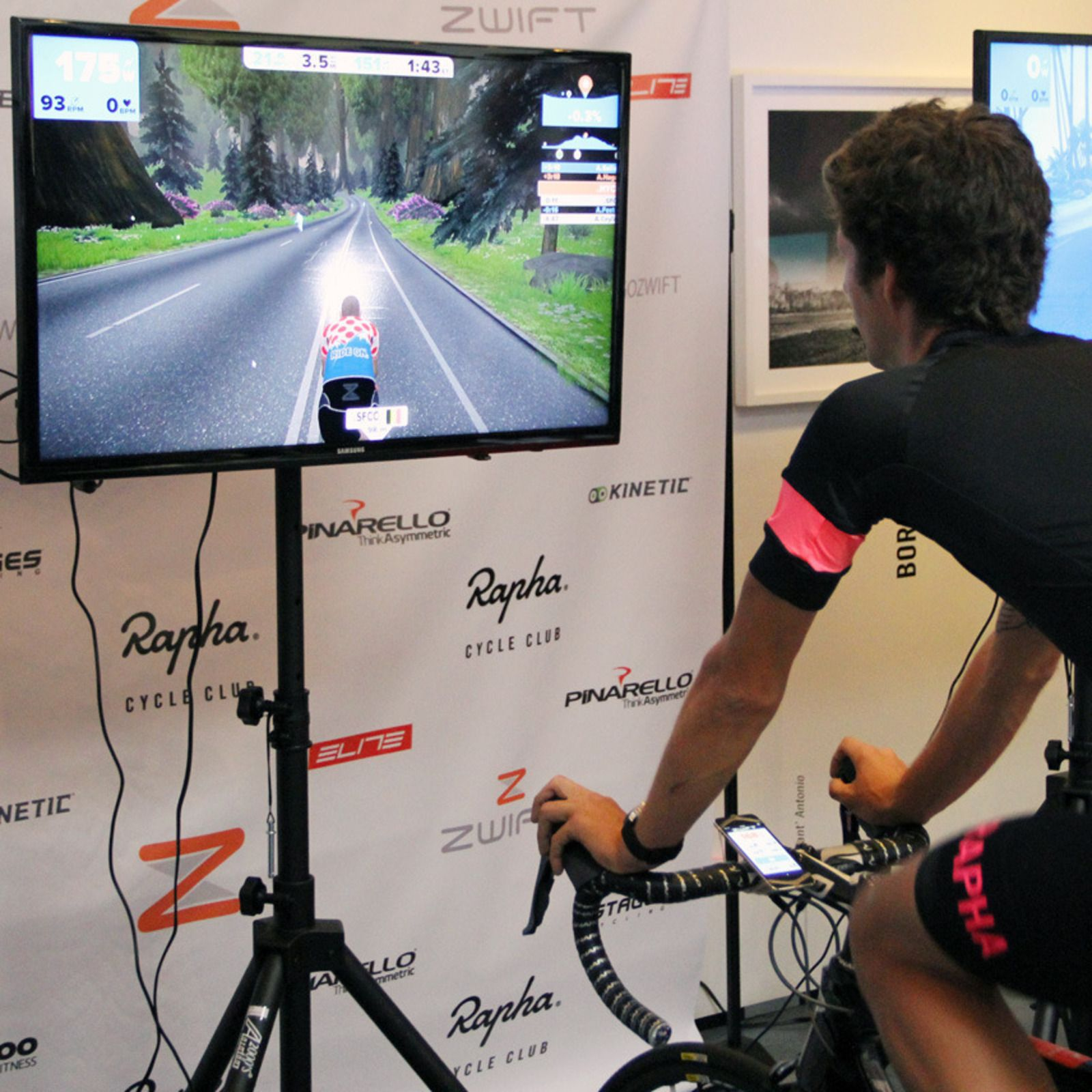 Indoor Cycling Meets Entertainment With Zwift Indoor Cycling