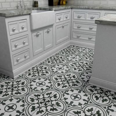 merola tile arte grey encaustic 9 3 4