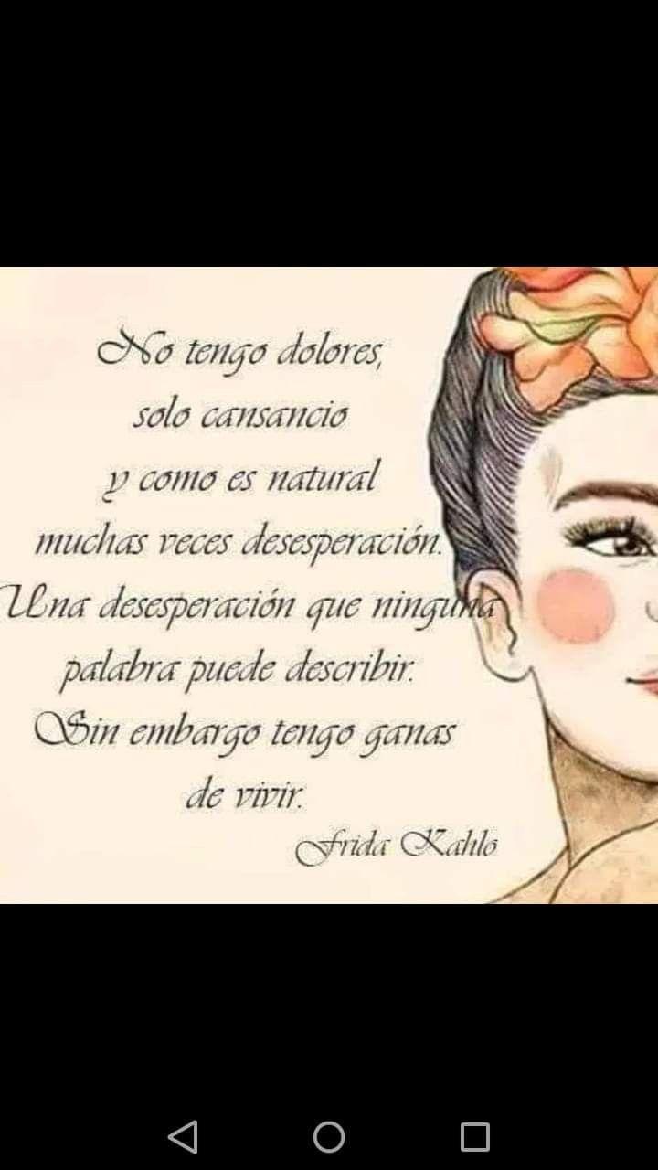 En citas espanol kahlo frida La vida