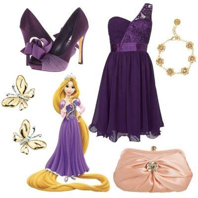 Disney Princess Glamorous Fashion - Belle | how to dress like disney princesses for prom rapunzel