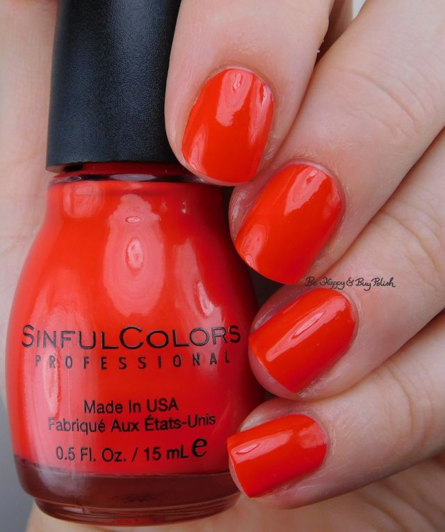 Sinful Colors Be Yourselfie nail polish collection swatches + review ...