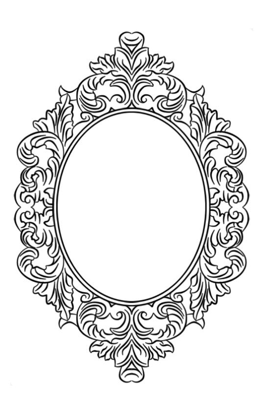 oval filigree frame tattoo. Pin By светлана On Шаблоны   Pinterest Stenciling, Cold Porcelain Flowers And Scrapbook Frames Oval Filigree Frame Tattoo R