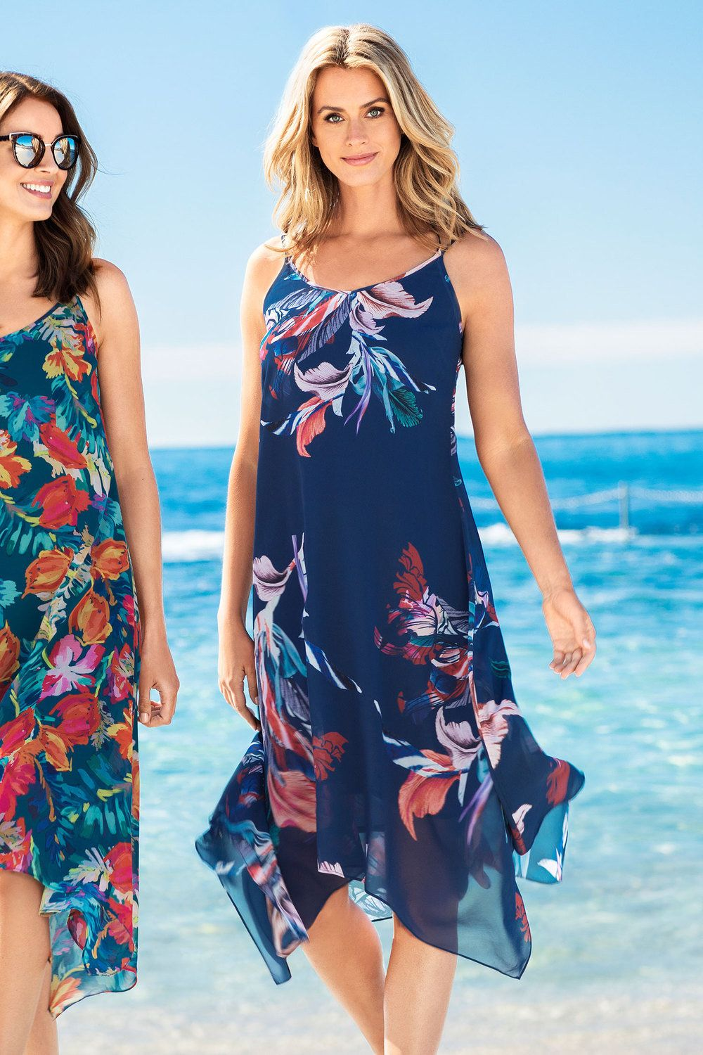 Capture Floaty Dress | Casual summer dresses, Floaty summer