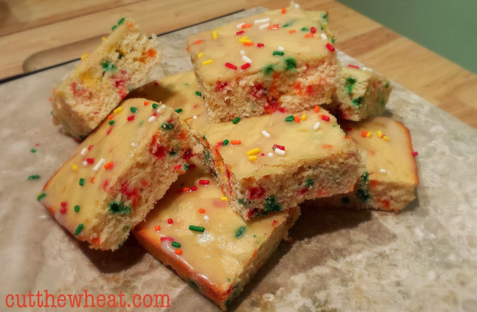 Low Carb Birthday Cake Bars Make A Great Celebration Just 3g Net Carbs Wheat Free Grain