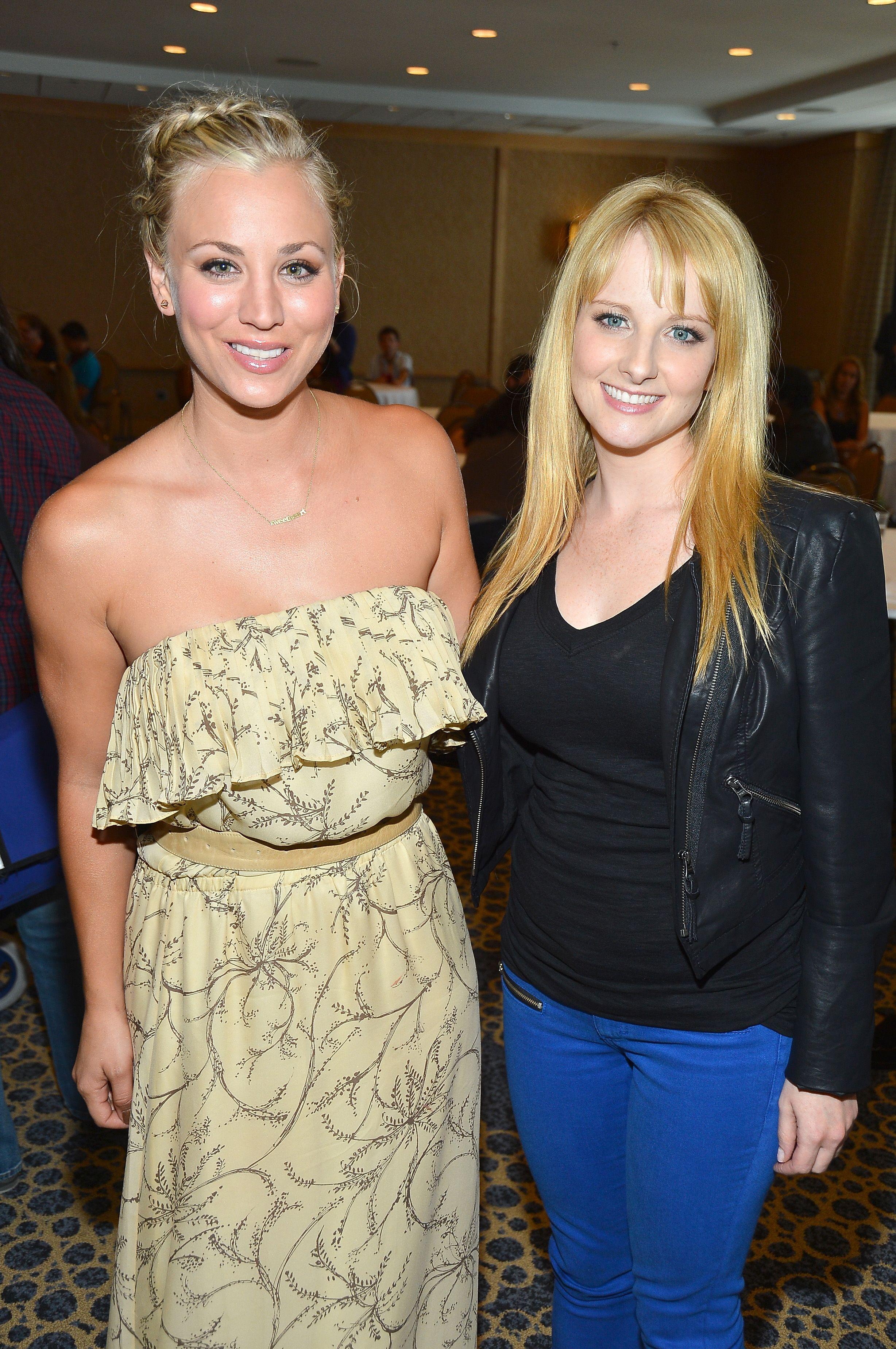 Kaley Cuoco & Melissa Rauch
