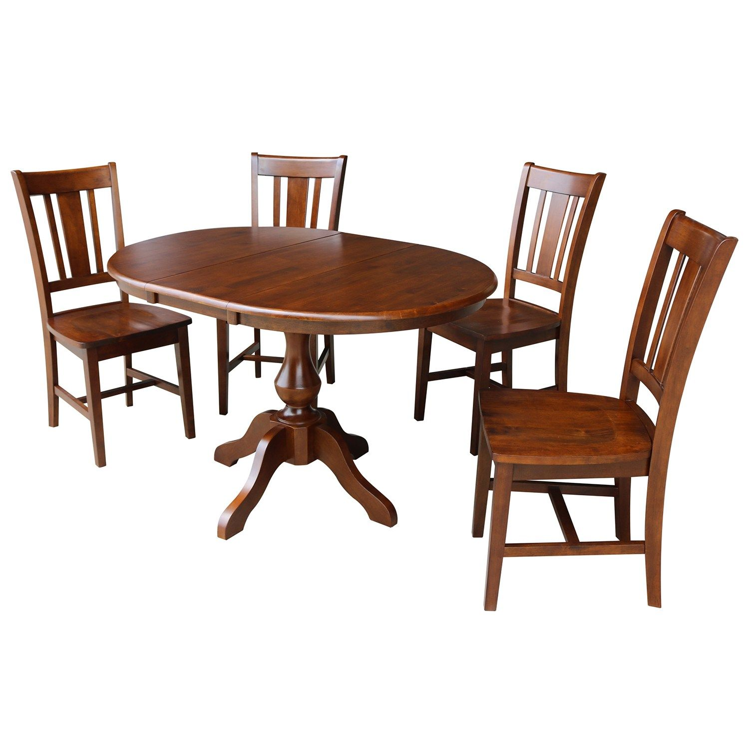 International Concepts Extension Dining Table & Chair 6