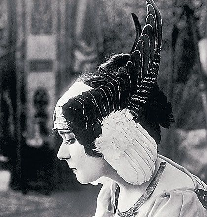 Theda Bara in Cleopatra (1917) This movie is lost except for just a few seconds, as you may or may not know, but according to contemporary r...