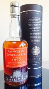 Bristol Port Morant 1990 rum review by the Fat Rum Pirate
