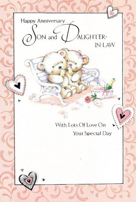 Happy Anniversary Son And Daughter In Law Funny : happy, anniversary, daughter, funny, Daughter, Wedding, Anniversary, Cards, Happy, Sister,, Quotes,