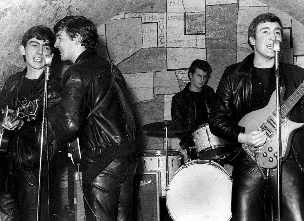 Bildresultat för the beatles at the cavern 1961