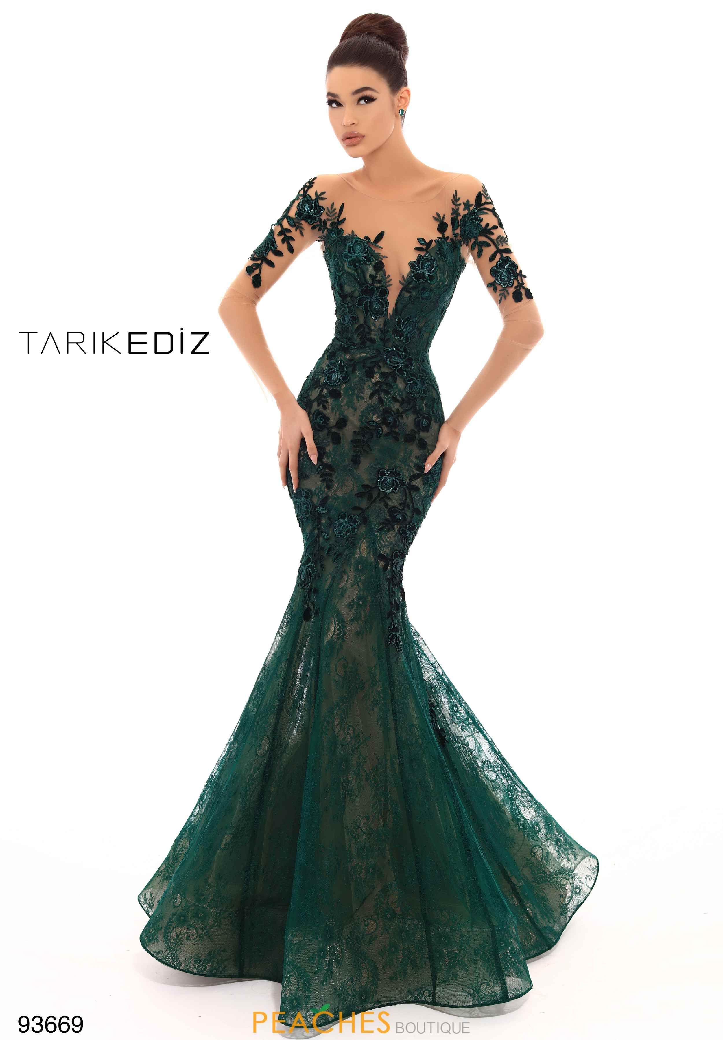 8b2a3222df Tarik Ediz Fitted Lace Dress 93669 in 2019 | Prom Dresses | Dresses ...