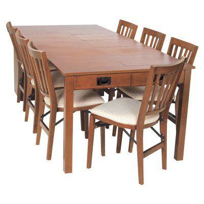 Elegant Stakmore Expanding Cabinet Table