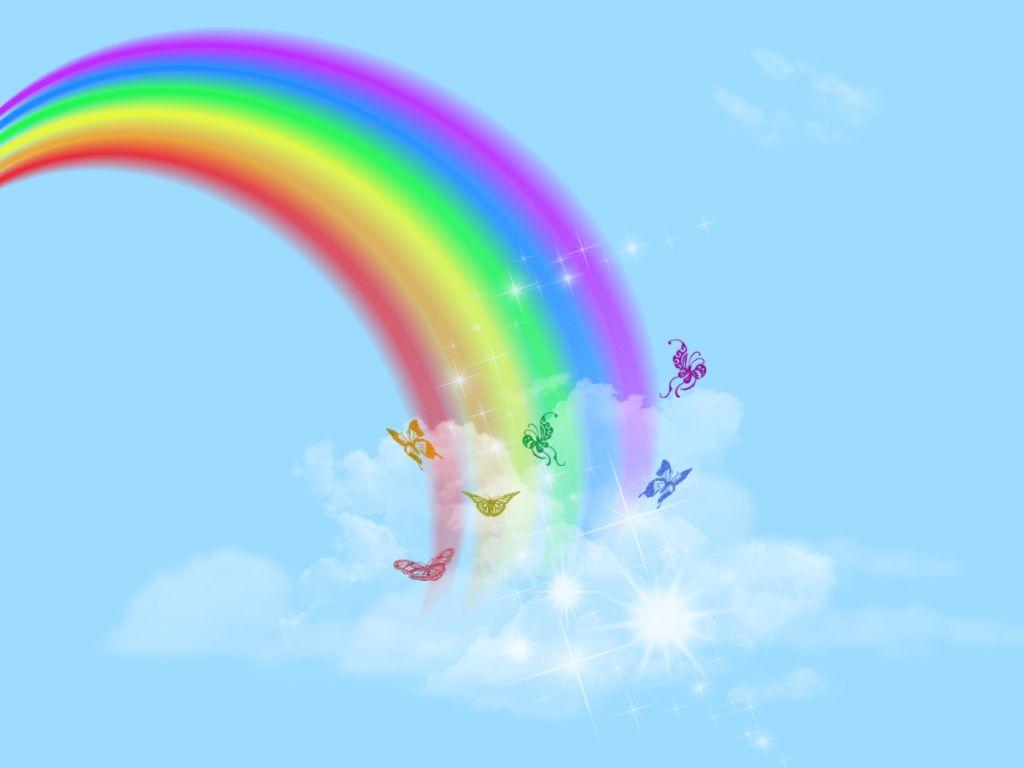 Cute Rainbow art - VisuaLogs
