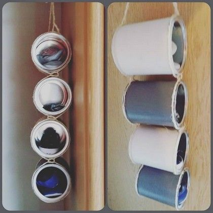 boite de lait en m tal r cup 3 rangement pour chaussure. Black Bedroom Furniture Sets. Home Design Ideas